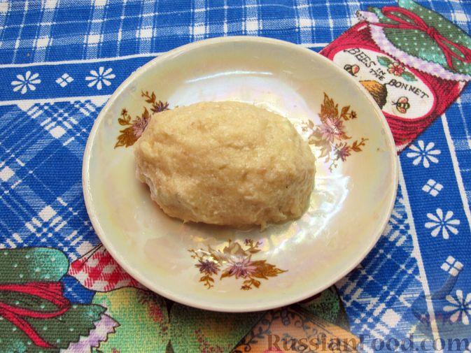 Фото приготовления рецепта: Рыбные зразы с плавленым сыром - шаг №11