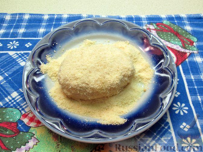 Фото приготовления рецепта: Рыбные зразы с плавленым сыром - шаг №12