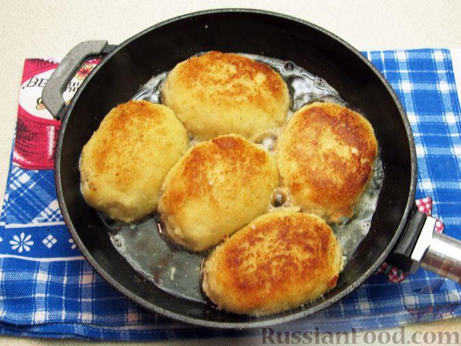 Фото приготовления рецепта: Рыбные зразы с плавленым сыром - шаг №15