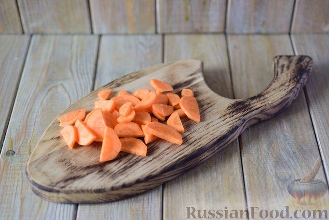 Фото приготовления рецепта: Фасолевый суп с клецками - шаг №3