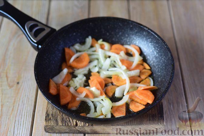 Фото приготовления рецепта: Фасолевый суп с клецками - шаг №6