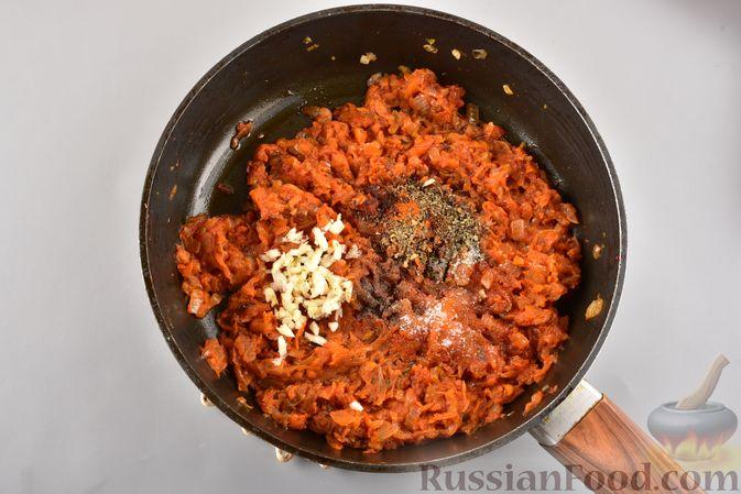 Фото приготовления рецепта: Икра из солёных огурцов и моркови - шаг №8