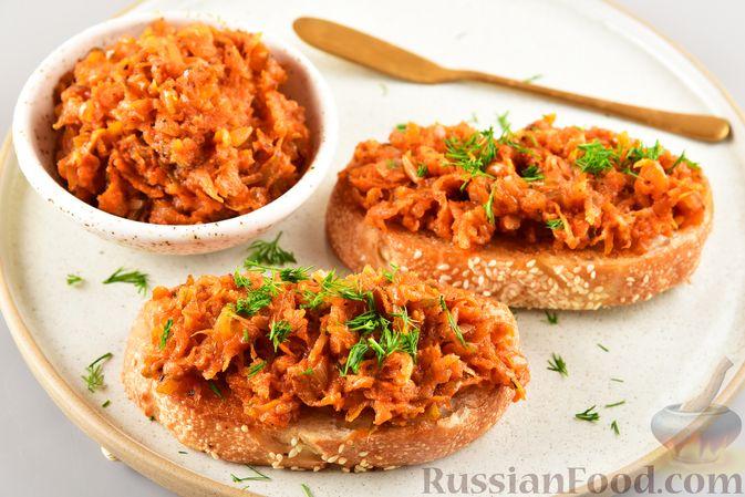 Фото приготовления рецепта: Икра из солёных огурцов и моркови - шаг №9