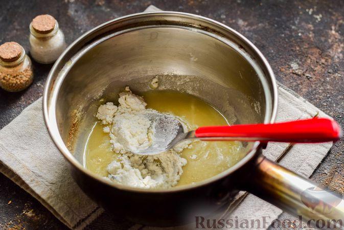 Фото приготовления рецепта: Кабачки, запечённые с молодой картошкой и помидорами, в соусе бешамель - шаг №3