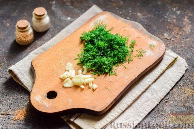 Фото приготовления рецепта: Кабачки, запечённые с молодой картошкой и помидорами, в соусе бешамель - шаг №7