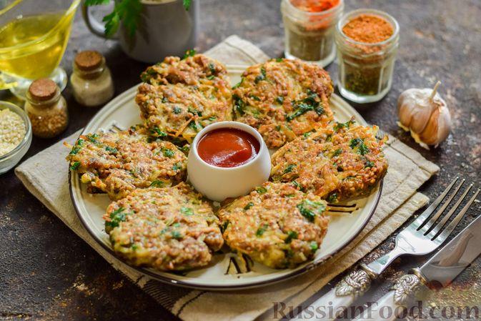 Фото приготовления рецепта: Котлеты из гречки, картофеля и зелени (без яиц) - шаг №12