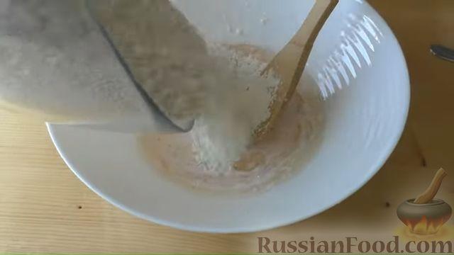 """Фото приготовления рецепта: Слоистый пирог с творогом и сахарным сиропом, или  Творожная """"пахлава"""" - шаг №3"""