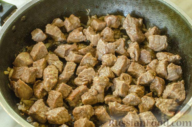 Фото приготовления рецепта: Говядина в кисло-сладком соусе - шаг №6