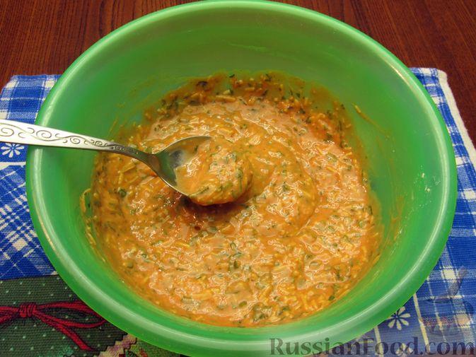 Фото приготовления рецепта: Отбивные из свинины в томатно-сырном кляре - шаг №12