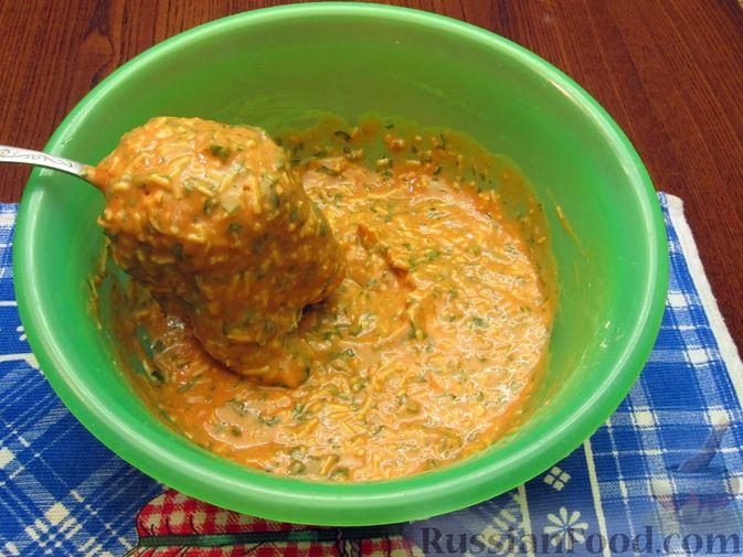 Фото приготовления рецепта: Отбивные из свинины в томатно-сырном кляре - шаг №14