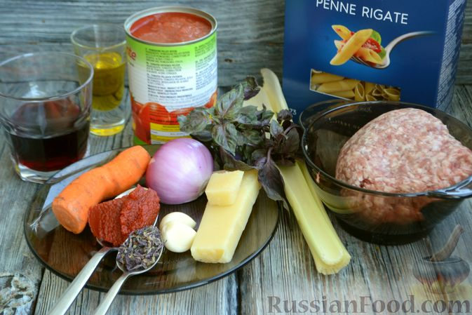Фото приготовления рецепта: Соус болоньезе - шаг №1