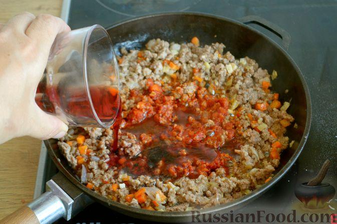 Фото приготовления рецепта: Соус болоньезе - шаг №9