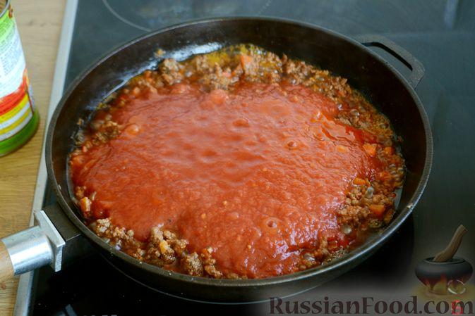 Фото приготовления рецепта: Соус болоньезе - шаг №10