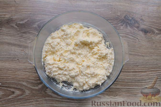 """Фото приготовления рецепта: Творожное печенье """"Пельмешки"""" с орехами и джемом - шаг №5"""