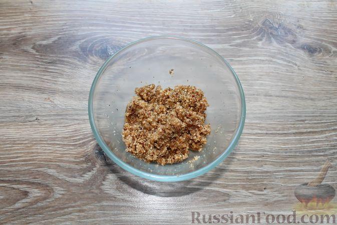 """Фото приготовления рецепта: Творожное печенье """"Пельмешки"""" с орехами и джемом - шаг №12"""