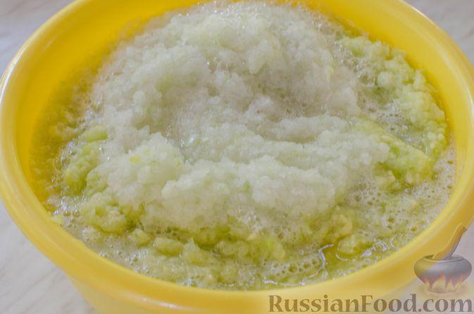 Фото приготовления рецепта: Кабачковая икра с майонезом - шаг №5