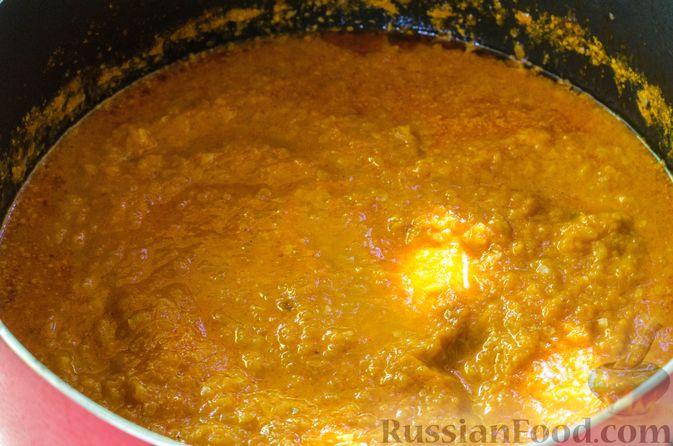 Фото приготовления рецепта: Кабачковая икра с майонезом - шаг №11