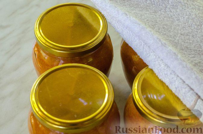 Фото приготовления рецепта: Кабачковая икра с майонезом - шаг №13