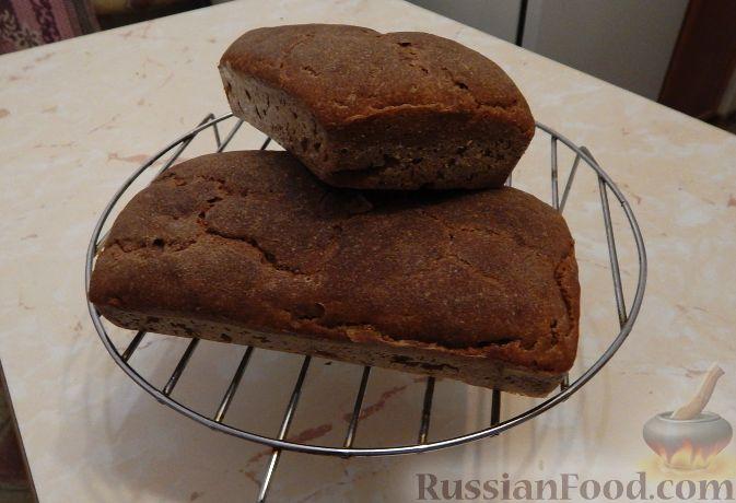 Рецепт Хлеб ржаной бездрожжевой