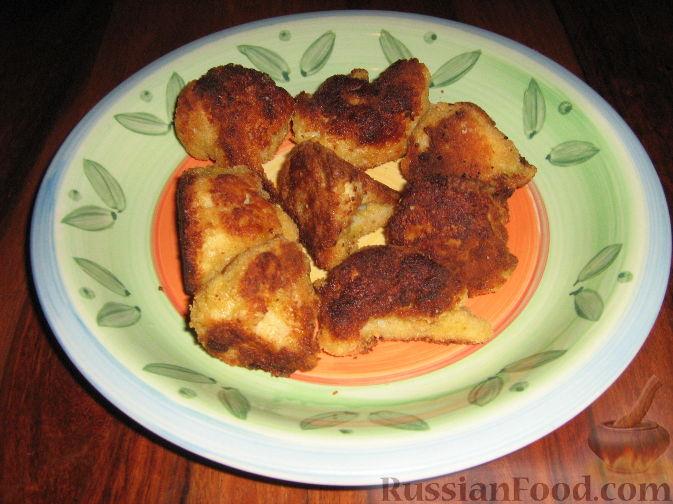 Рецепт Цветная капуста в кляре и панировке