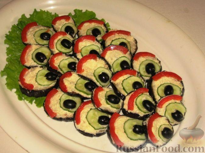 Павлиний хвост салат и рецепт