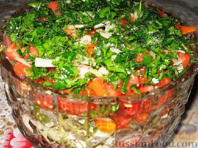 Фото приготовления рецепта: Рис с овощами, в сковороде - шаг №7
