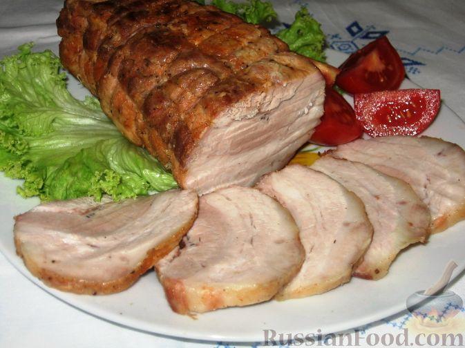 Рецепт Буженина из свиной грудинки