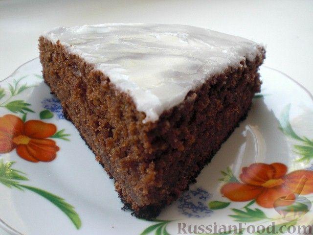 Рецепт Шоколадный пирог с кабачками