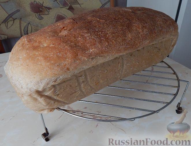 Рецепт Хлеб белый бездрожжевой, на закваске