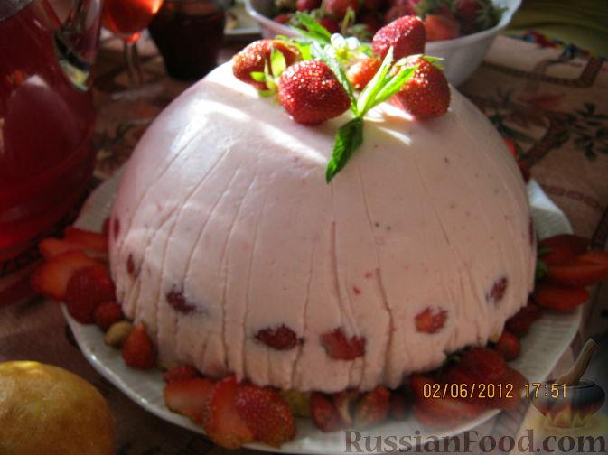 Рецепт Торт творожно-йогуртовый, диетический