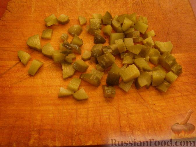 салат с тунцом консервированным рецепт простой фото