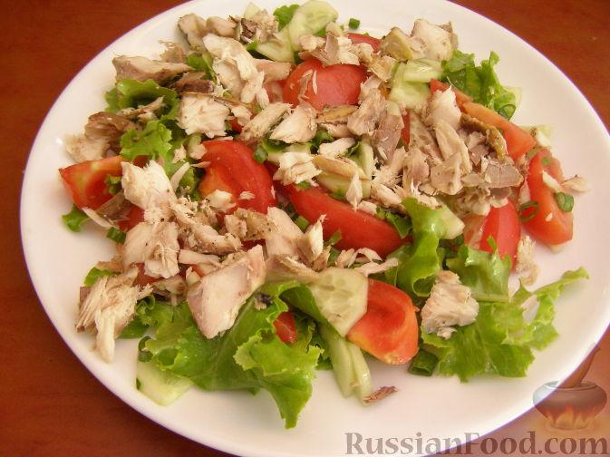 Салат с тунцом (98 рецептов с фото) - рецепты с ...