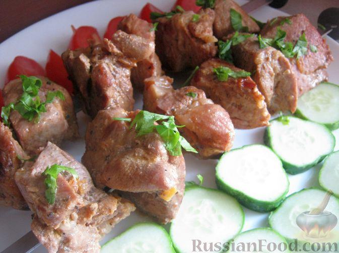 Рецепт Горчично-овощной маринад для шашлыка