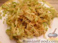 """Фото приготовления рецепта: Курица в сырно-яблочной """"шубке"""" - шаг №3"""