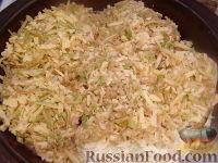 """Фото приготовления рецепта: Курица в сырно-яблочной """"шубке"""" - шаг №6"""