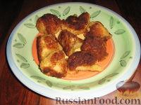 Фото к рецепту: Цветная капуста в кляре и панировке