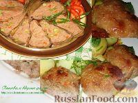Фото к рецепту: Мясная запеканка и котлеты с овощами