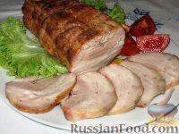 Фото к рецепту: Буженина из свиной грудинки