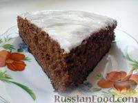 Фото к рецепту: Шоколадный пирог с кабачками