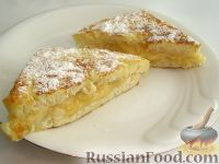 Фото к рецепту: Французские тосты с бананами и сыром
