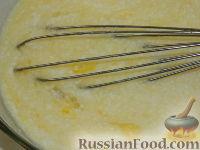 Фото приготовления рецепта: Оладьи с мясом - шаг №3