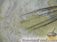 Фото приготовления рецепта: Оладьи с мясом - шаг №6