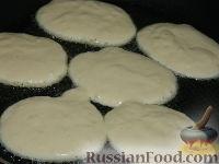 Фото приготовления рецепта: Оладьи с мясом - шаг №11