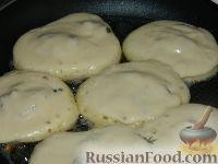 Фото приготовления рецепта: Оладьи с мясом - шаг №14