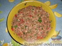 Фото приготовления рецепта: Долма (голубцы в виноградных листьях) - шаг №9