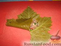 Фото приготовления рецепта: Долма (голубцы в виноградных листьях) - шаг №12