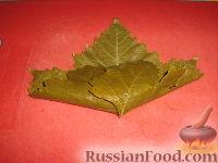 Фото приготовления рецепта: Долма (голубцы в виноградных листьях) - шаг №13