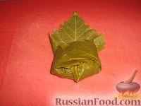 Фото приготовления рецепта: Долма (голубцы в виноградных листьях) - шаг №14