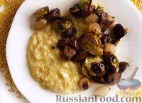 Фото к рецепту: Пшенная каша с жареными овощами