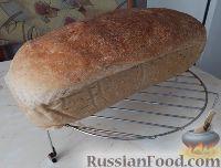 Фото к рецепту: Хлеб белый бездрожжевой, на закваске